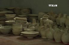 L'entrepôt d'antiquités sous la rivière Luc Nam