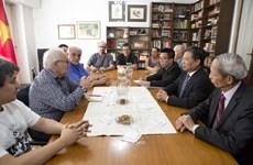 Une délégation du PCV effectue une visite de travail en Uruguay et en Argentine