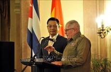 Commémoration du 75e anniversaire de la fondation de l'Armée populaire du Vietnam à Cuba