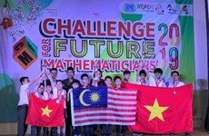 Concours «Défis des mathématiciens du futur»: Le Vietnam rafle dix médailles d'or