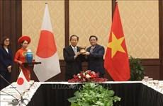 Des responsables vietnamiens et japonais conviennent de renforcer les relations parlementaires