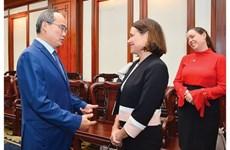 HCM-Ville souhaite travailler avec l'Australie pour élaborer une stratégie de coopération économique