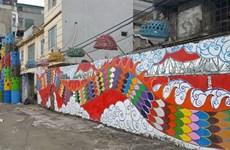 La rue des arts Phuc Tân, un nouvel espace créatif et culturel à Hanoï