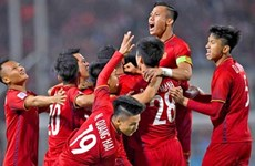 FIFA : L'équipe nationale du Vietnam dans le top 15 en Asie