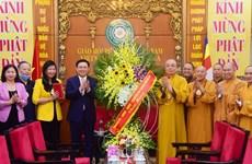 Naissance de Bouddha : le secrétaire du Comité du Parti de Hanoi présente ses salutations
