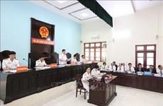 Procès de l'affaire Dinh Ngoc He et de ses complices
