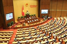 Ouverture de la 9e session de l'Assemblée nationale de la XIVe législature