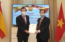 Nomination du consul d'honneur du Vietnam à Seville