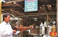Quang Ninh: Hung Hoc sauvegarde la production de bateaux de pêche