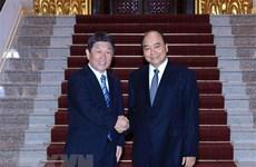 Le ministre japonais des AE Motegi Toshimitsu en visite officielle au Vietnam