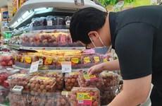 Le litchi vietnamien est présent dans la chaîne de supermarchés FairPrice de Singapour