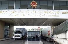 Les exportations de produits agricoles augmentent fortement via le poste frontalier de Lao Cai