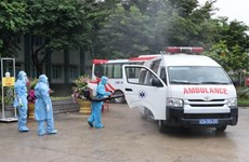 COVID-19 : L'hôpital de campagne de Hoa Vang à Da Nang prêt à traiter les patients