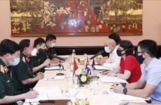 Vietnam et Cuba encouragent leur coopération en médecine militaire