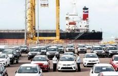 L'importation de voitures de Thaïlande a doublé en août