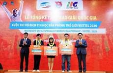 Des étudiants vietnamiens participeront aux Microsoft Office World Champs