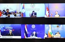 Les pays du bas-Mékong et la R. de Corée renforcent leurs liens au milieu du COVID-19