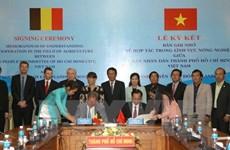 Ho Chi Minh-Ville et la province de Flandre-Orientale renforcent leur coopération agricole