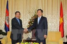 Samdech Techo Hun Sen réaffirme oeuvrer pour renforcer les liens Cambodge-Vietnam