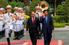 Le Premier ministre cambodgien Samdech Techo Hun Sen termine sa visite officielle au Vietnam