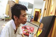 Lê Minh Châu, le peintre qui voulait sortir du cadre du handicap