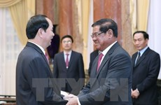 Le président exhorte à booster la coopération intégrale Vietnam-Cambodge
