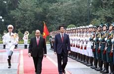 Le PM Shinzo Abe au Vietnam, la presse japonaise en parle
