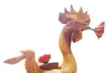 Un coq de culte sur l'autel des ancêtres, tout un art à Hà Tinh