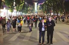 Hanoi «by night» dans ses rues piétonnières