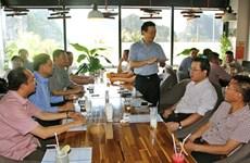 À Quang Ninh, dirigeants et entrepreneurs autour d'une tasse de café