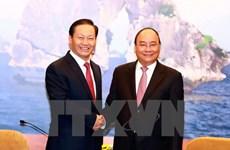Le PM reçoit le secrétaire du Comité du PCC pour la Région autonome Zhuang du Guangxi