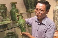 Trân Van Dô, l'artisan qui redonne vie aux émaux anciens