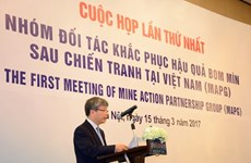 Le Vietnam et ses partenaires oeuvrent pour le règlement des séquelles des débris de guerre