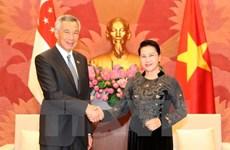 """La visite du PM singapourien """"porte le partenariat stratégique à un nouveau palier"""""""