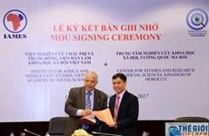Vietnam et Maroc coopèrent dans l'échange des informations scientifiques