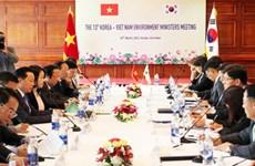 La 13e conférence des ministres de l'Environnement Vietnam-R. de Corée