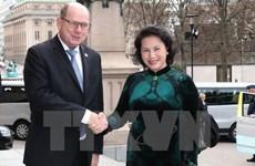 La présidente de l'AN du Vietnam Nguyên Thi Kim Ngân termine sa visite en Suède