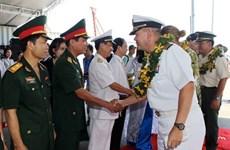 Le Partenariat du Pacifique 2017 débarque à Dà Nang