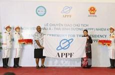 Le Vietnam assume la présidence du Forum parlementaire Asie-Pacifique