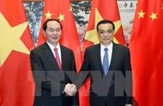 Entrevue Tran Dai Quang - Li Keqiang