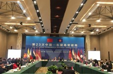 Réunion consultative des hauts officiels ASEAN-Chine