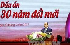 """Le PM au programme """"Gloire au Vietnam - 30 ans de renouveau"""""""