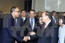 Le PM Nguyên Xuân Phuc célèbre les 40 ans du Vietnam à l'ONU
