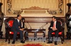 Promouvoir  les relations de coopération Ho Chi Minh-Ville-Gangwon