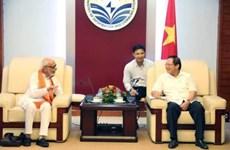 Le Vietnam et l'Inde favorisent les échanges entre les deux peuples