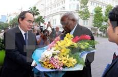 Le président de l'Assemblée nationale cubaine à Hô Chi Minh-Ville