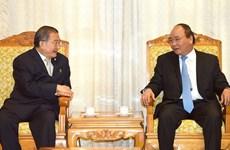 Le PM Nguyên Xuân Phuc reçoit le président du thaïlandais TCC