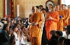 Le patriarche suprême de Thaïlande salue les liens avec l'Eglise bouddhique du Vietnam