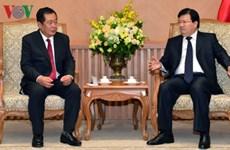 Le Vietnam soutient les infrastructures de technologies de l'information au Laos