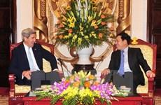 Le vice-PM Pham Binh Minh reçoit l'ancien secrétaire d'État américain